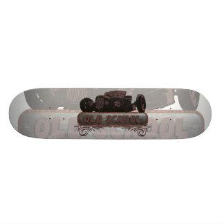 Old School Hot Rod Skateboard