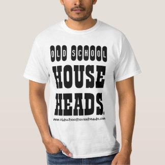 Old School House Heads Big Block T-1 T-Shirt