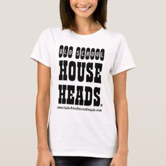 Old School House Heads Lady T Basic T-Shirt