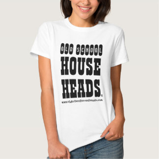 Old School House Heads Lady T Basic T Shirts