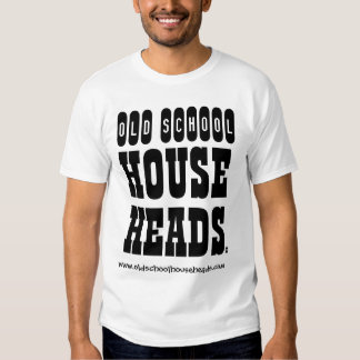Old School House Heads Mens T-2 T-Shirt