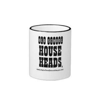 OLD SCHOOL, HOUSE, HEADS, www.oldschoolhousehea... Ringer Coffee Mug