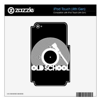 OLD_SCHOOL iPod TOUCH 4G CALCOMANÍA