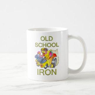 Old School Iron Coffee Mugs