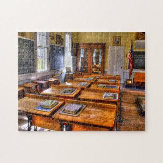 Old School Jigsaw Puzzle