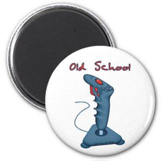 Old School Joystick 2 Inch Round Magnet