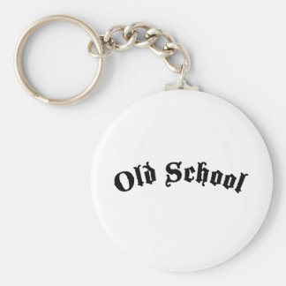 Old School Keychain