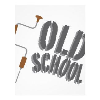Old School Letterhead