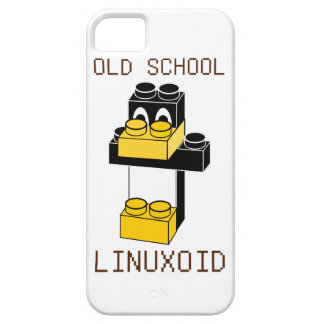 OLD SCHOOL LINUXOID iPhone 5 COVERS