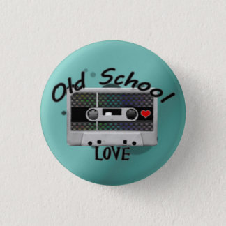 Old School Love Pinback Button