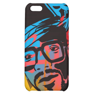 Old school man iPhone 5C covers