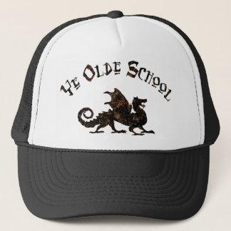 Old School - Medieval Dragon King Arthur Knights Trucker Hat