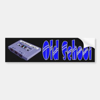 Old School -mixed tape Car Bumper Sticker