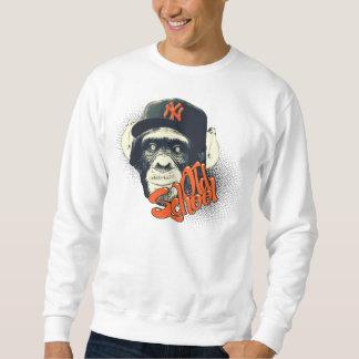 Old school monkey sweatshirt