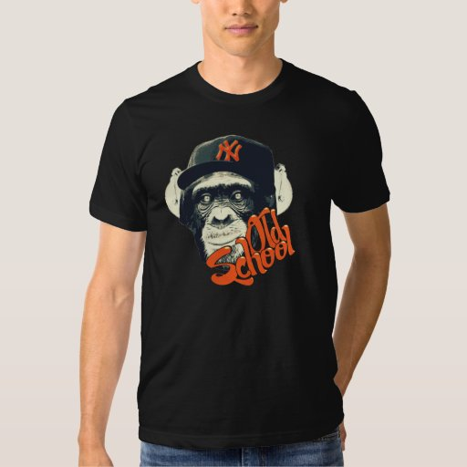 Old school monkey t-shirts