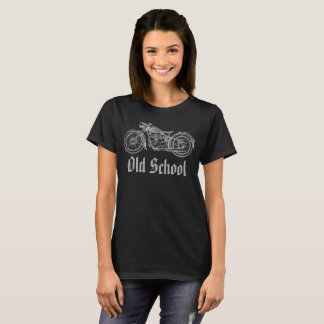 Old School Motorcycling Vintage T-Shirt