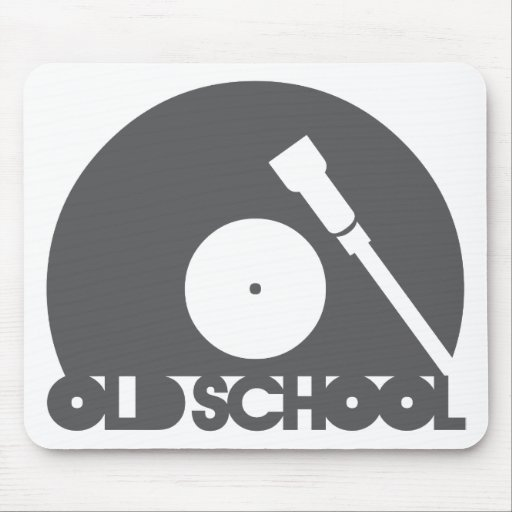 OLD_SCHOOL MOUSEPAD