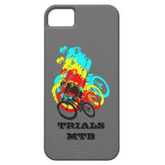 Old school MTB / Trials bike wheelie iPhone 5 Cover