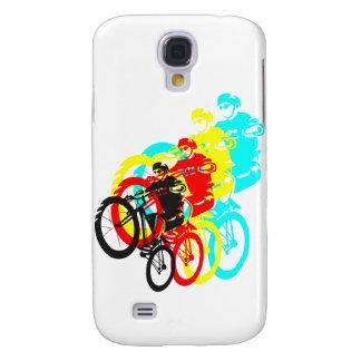 Old school MTB / Trials bike wheelie Galaxy S4 Case