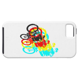 Old school MTB / Trials bike wheelie iPhone SE/5/5s Case