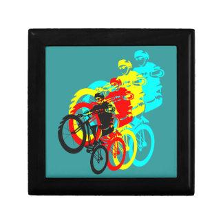 Old school MTB / Trials bike wheelie Jewelry Box