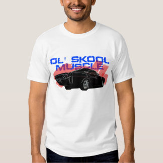 Old school Muscle Charger Car Tshirt