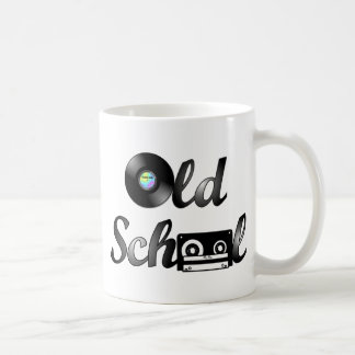 Old School Music Media Classic White Coffee Mug