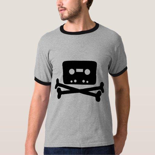 Old School Music Pirate Cool Geek T Shirt Zazzle