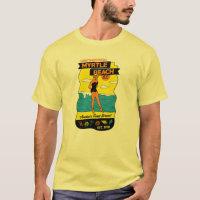 Old-School Myrtle Beach Postcard T-Shirt