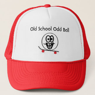Old School Odd Ball Trucker Hat