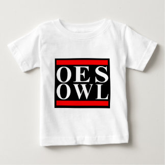 Old School OES OWL design Baby T-Shirt