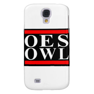 Old School OES OWL design Galaxy S4 Covers