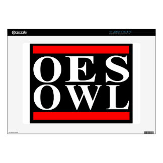 """Old School OES OWL design Skin For 15"""" Laptop"""