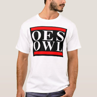 Old School OES OWL design T-Shirt