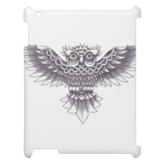 Old School Owl Tattoo Design Cover For The iPad