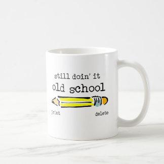 Old School Pencil Funny Mug Humor