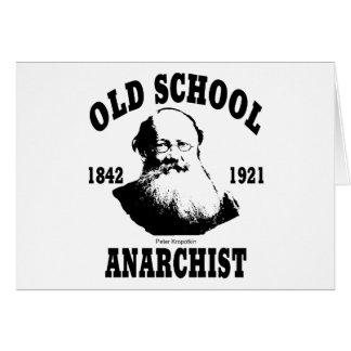Old School  --  Peter Kropotkin Card