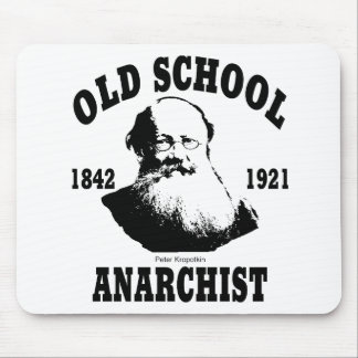 Old School  --  Peter Kropotkin Mouse Pad