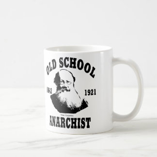 Old School  --  Peter Kropotkin Classic White Coffee Mug