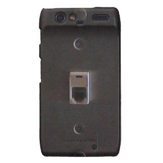 Old school Phone jack. Droid RAZR Covers