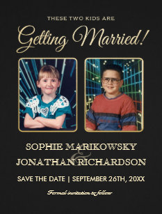 kids save the date cards zazzle