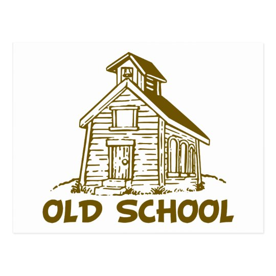 Old School Postcard