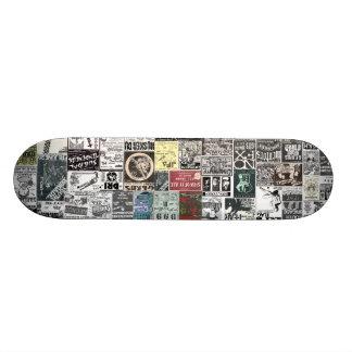 Old school Punk Rock Flyer - Skateboard Deck