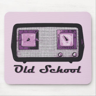 Old School Radio Retro Vintage Mouse Pad