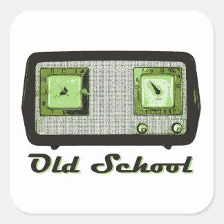 Old School Radio Retro Vintage Sticker