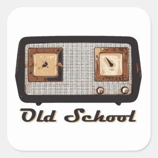 Old School Radio Retro Vintage Stickers