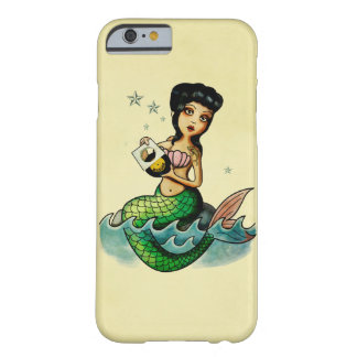 Old School Reggae Mermaid Barely There iPhone 6 Case