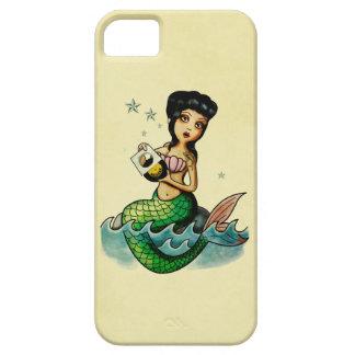 Old School Reggae Mermaid iPhone 5 Covers