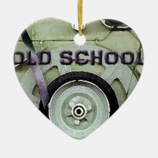 Old School Retro 8 Track Cassette Tape Ceramic Ornament