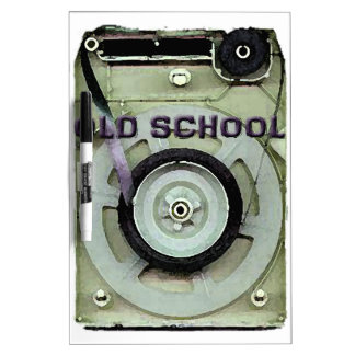 Old School Retro 8 Track Cassette Tape Dry-Erase Board